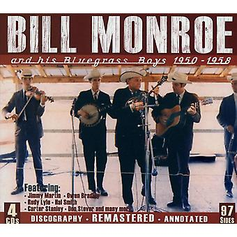 Bill Monroe - & His Bluegrass Boys 1950-1958 [CD] USA import