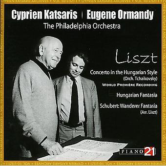 F. Liszt - Liszt: Concerto i den ungarske stil; Ungarske Fantasia; Wanderer Fantasia [CD] USA import