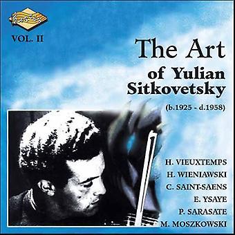 Yulian Sitkovetsky - The Art af Yulian Sitkovetsky, Vol. 2 [CD] USA importerer