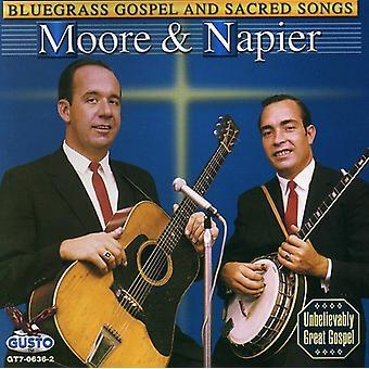 Moore & Napier - Bluegrass evangeliet & hellige sange [CD] USA import