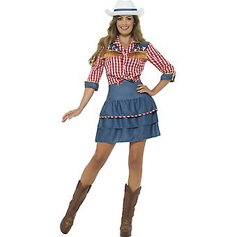 Rodeo Cowgirl women's costume