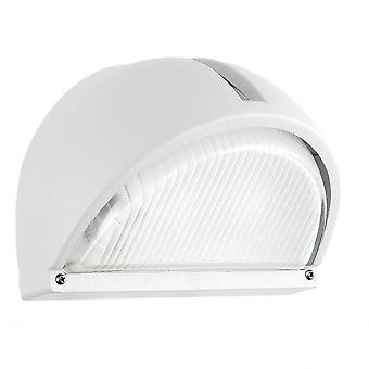 Eglo Onja 1 Light Outdoor Wall Light White Finish IP44 Rated