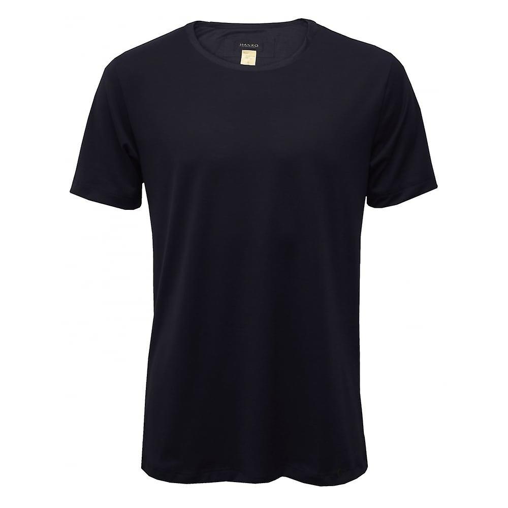 Hanro Night & Day Crew-Neck Short-Sleeve T-Shirt Gift Set, Navy