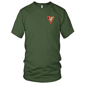 US Army - 46th Field Artillery Group Embroidered Patch - Kids T Shirt