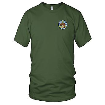 US Navy SS-274 USS Rock Embroidered Patch - Mens T Shirt