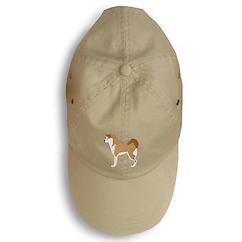 كنوز كارولين BB3472BU-156 أكيتا مطرزة قبعة بيسبول