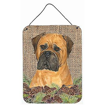 Carolines Treasures  SS4065DS1216 Bullmastiff Aluminium Metal Wall or Door Hangi