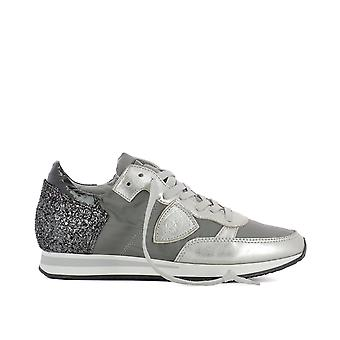 Philippe model ladies TRLDGT13 grey cotton of sneakers