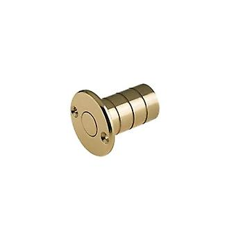 Zoo Dust Socket For Flush Bolts - Wood - Polished Brass - FB14A