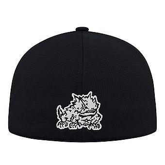 TCU の角カエル NCAA 牽引「ブースター」メモリ フィット帽子