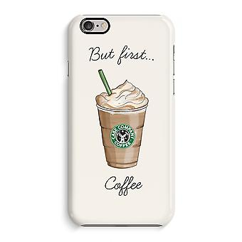 Iphone 6 6s Case 3d Case (Glossy) - But first coffee