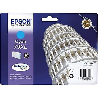 Epson Ink T7902, 79XL Original Cyan C13T79024010