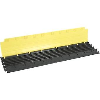 (L x W x H) 1000 x 280 x 32 mm Black, Yellow Adam Hall Content: 1 pc(s)