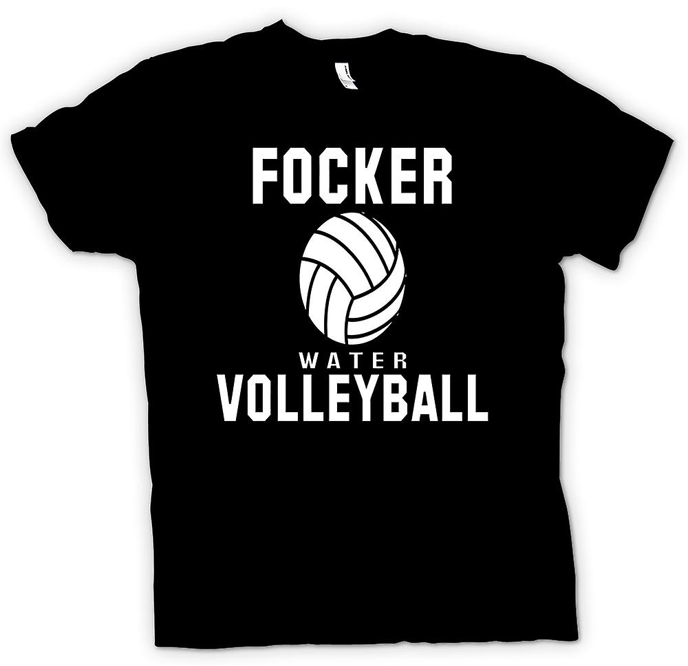 Mens T-shirt - Focker, Water Volleyball - Quote