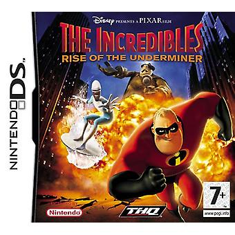 The Incredibles-Rise Of The Underminer (Nintendo DS)