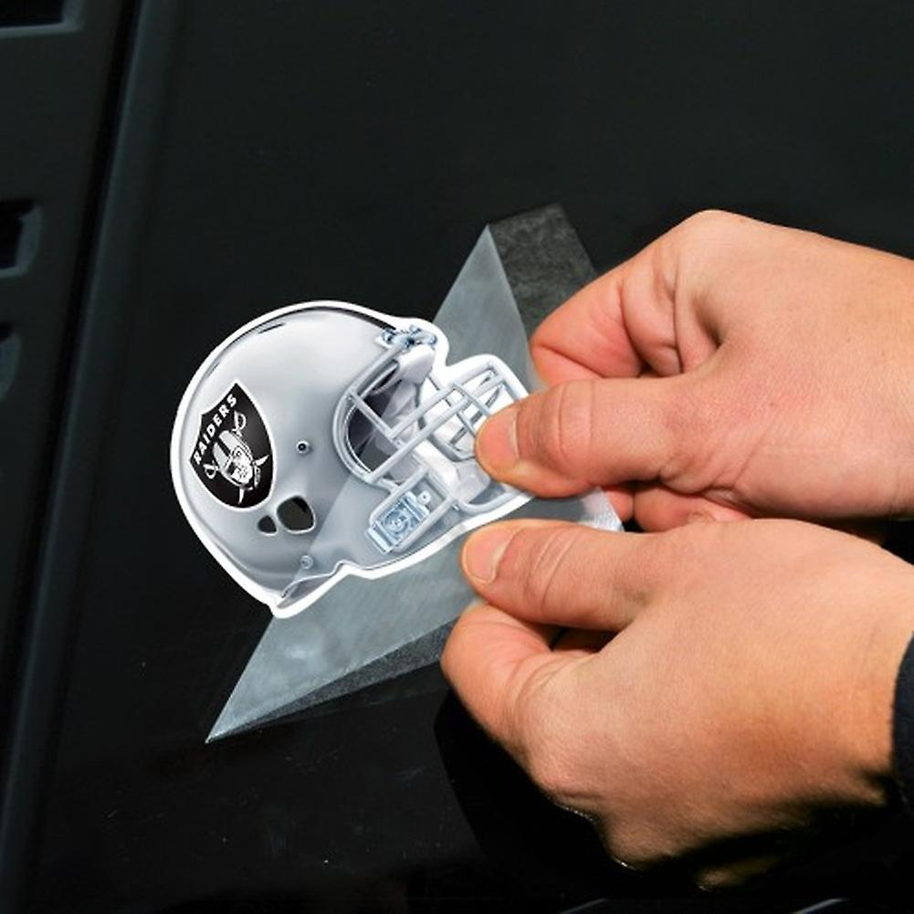 Wincraft Helm Aufkleber 10x10cm Nfl Oakland Raiders