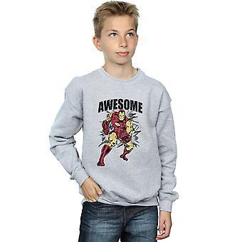Wonder Boys Awesome Iron Man Sweatshirt