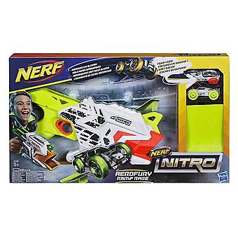 Nerf E0408EU4 Nitro Aerofury rampa rabia