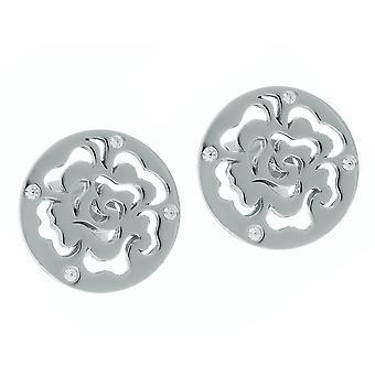 Orphelia Silver 925 Earring Flower Zirc  ZO-7079