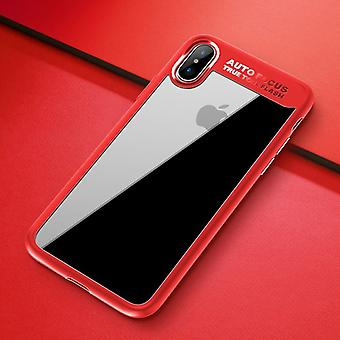 Original ROCK bumper case for Apple iPhone X / XS bag cover case red new