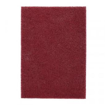 3M 05303 Scotch-Brite Hand Pad 7447, 155mm x 225mm, A VFN Maroon Pack of 20