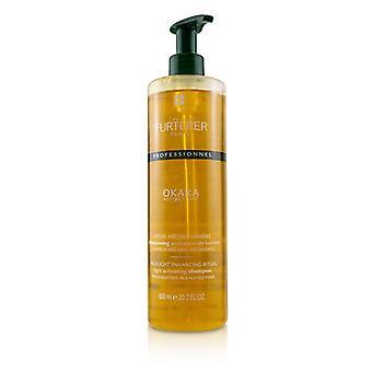 Rene Furterer Okara Active Light Highlight Enhancing Ritual Light Activating Shampoo - Highlighted Bleached Hair (Salon Product) - 600ml/20.2oz