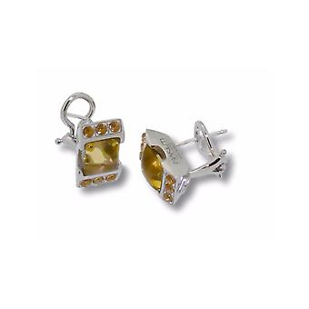 MAKUTI Sterling Silver Citrine Earrings