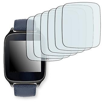 ASUS ZenWatch 2 1.63 in. (WI501Q) screen protector - Golebo Semimatt protector (deliberately smaller than the display, as this is arched)