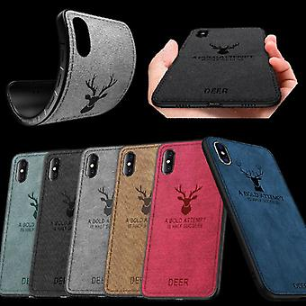 Hochwertige Design Hülle Silikon / Kunstleder für Smartphones Hülle Case Etui Neu