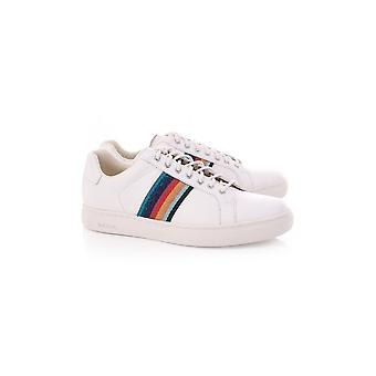 Paul Smith Shoe Womens Lapin Trainer With Lurex Stripes