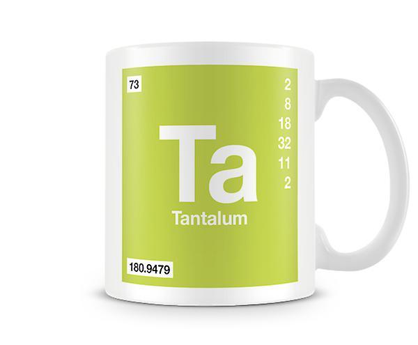 073 Mug TaTantale En Symbole Imprimé Élément ScientifiqueMettant Vedette vm8nON0w