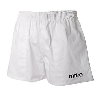 Mitre Junior Boys Cotton Drill Rugby Shorts