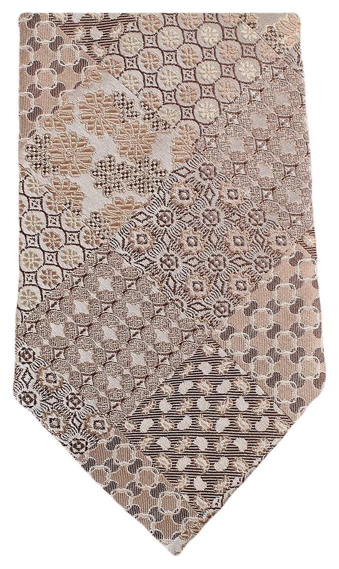 Knightsbridge cravates Multi Pattern Floral cravate - Beige
