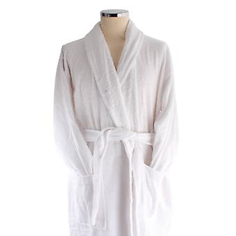 Bown of London Terry Egyptian Cotton Dressing Gown - White