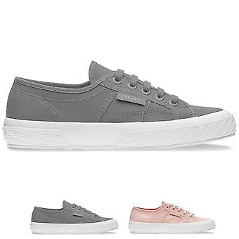 Womens Superga 2750 Classic Low Top Fashion Flat Lace Up Casual Trainers