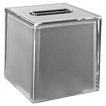 Gedy Rainbow Square Tissue Box Silver RA02 73
