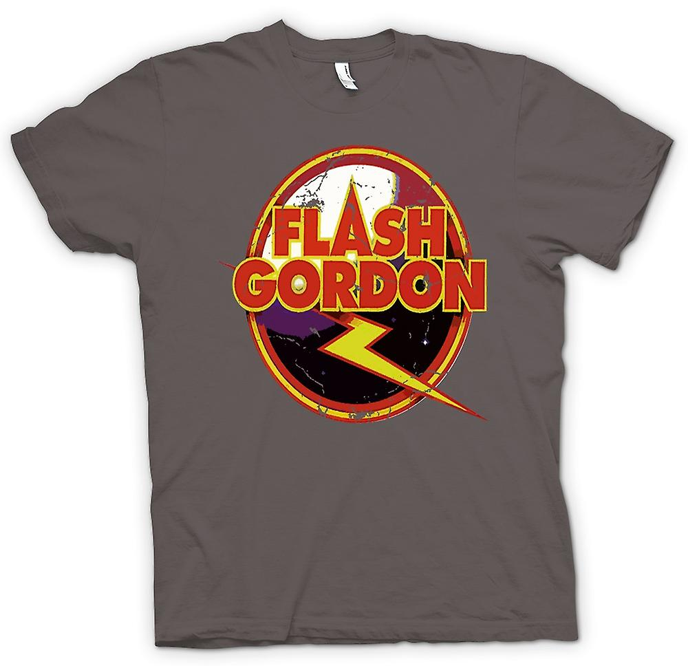 Womens T-shirt - Flash Gordon Logo - Sci Fi