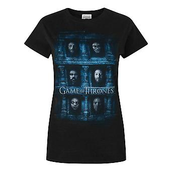 Game Of Thrones Hall Of Faces Women's T-Shirt Black