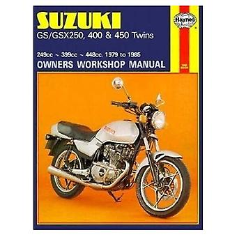 Suzuki GS and GSX 250, 400 and 450 Twins Owners Workshop Manual (Motorcycle Manuals)
