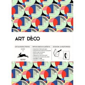 Art Deco: Gift & Creative Paper Book Vol. 75