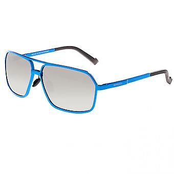 Breed Fornax Aluminium Polarized Sunglasses - Blue/Silver
