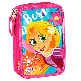 Disney Princess Rapunzel Tangled 44-piece Triple Filled pencil case Skolset