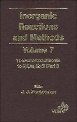 Inorganic Reactions   Methods V 7 by Zuckerhomme