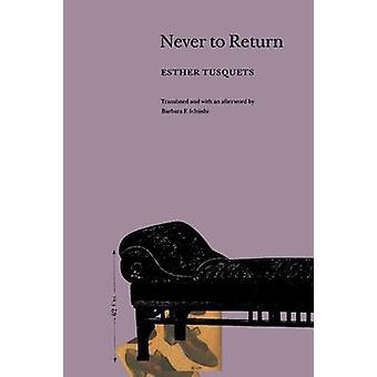 Nie wieder durch Tusquets & Esther