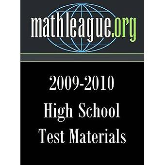 High School testmaterial 20092010 av Sanders & Tim