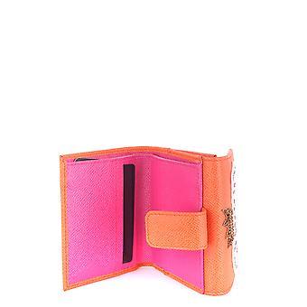 Dolce E Gabbana Multicolor Leder-Geldbörse