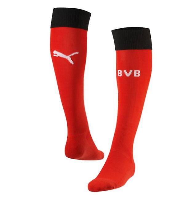 2015-2016 Borussia Dortmund Goalkeeper Puma Socks (Red)