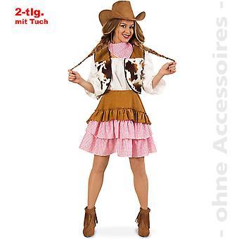 Cowgirl costume ladies Arizona Cowgirl costume Rancherin Western girl Womens costume