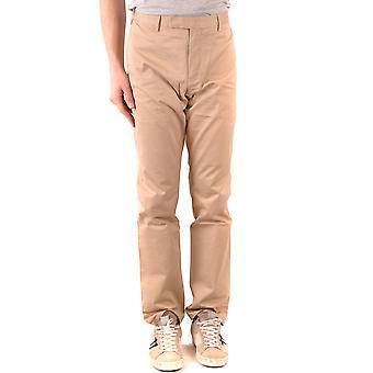 Ralph Lauren beige algodón pantalones