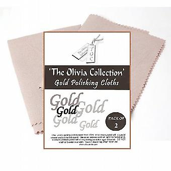 TOC Gold Jewellery Anti Tarnish Cleaning & Polishing Cloth X 2  220mm x 315mm